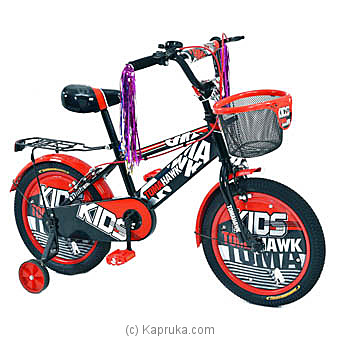 Tomahawk Matrix Kids Bicycle - Red And Black - 12` By TOMAHAWK at Kapruka Online forspecialGifts