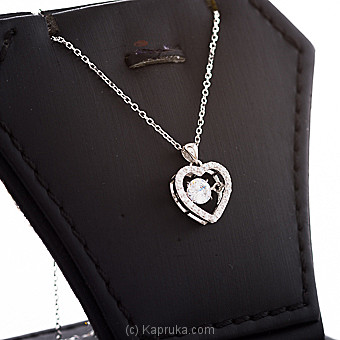 Crystal Heart Pendant With Chain By Swarovski at Kapruka Online forspecialGifts