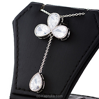Crystal Stones Pendant With Chain at Kapruka Online for specialGifts