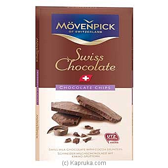 Movenpick Swiss Chocolate Chips 70g at Kapruka Online for specialGifts