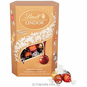 Lindt Lindor 4 Flavours Assorted - 200g at Kapruka Online for specialGifts
