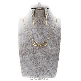 Gold Stones Jewelry Set at Kapruka Online for specialGifts
