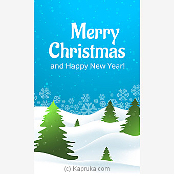 Christmas Greeting Card at Kapruka Online for specialGifts