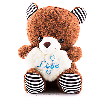 Fuzzy Teddy Bear By Huggables at Kapruka Online forspecialGifts
