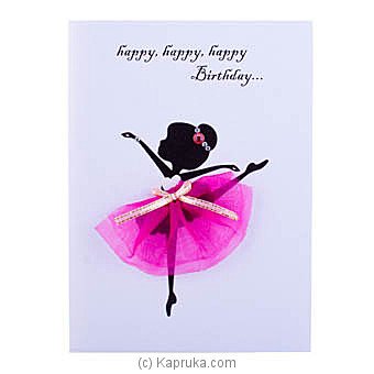 Handmade Happy Birthday Greeting Cardat Kapruka Online forspecialGifts