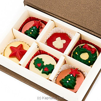 Java Deck The Hall Christmas Chocolates ( 6 Piece) at Kapruka Online for specialGifts