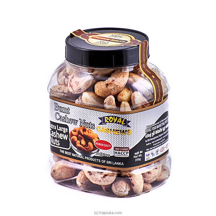 Royal Cashews Cheese & Onion Cashew Bottle - 250g at Kapruka Online for specialGifts