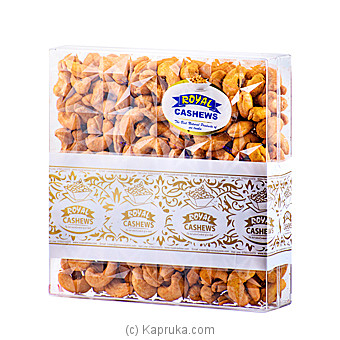 Royal Cashews Hot & Spicy Cashew Premium  Ceylon-Gold Label  -  650g at Kapruka Online for specialGifts