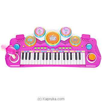 Small Musician Pink Electronic Keyboard By Brightmind at Kapruka Online forspecialGifts