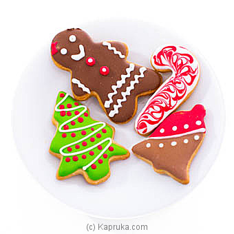 Java Seasonal 4 Piece Cookie Pack at Kapruka Online for specialGifts