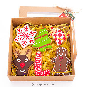 Java Christmas Cookies Gift Box at Kapruka Online for specialGifts