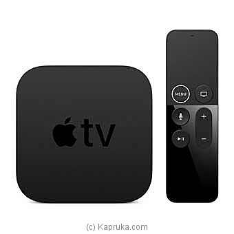 Apple TV 32GB 4K HD Media Streamer By Apple at Kapruka Online forspecialGifts