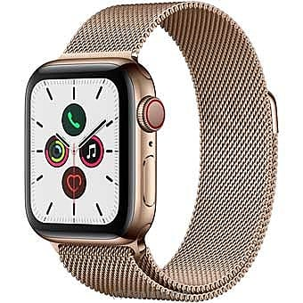 Apple IWatch Series 5 - 44mm Gold Aluminum GPS + Cellular - Milanese Loop By Apple at Kapruka Online forspecialGifts