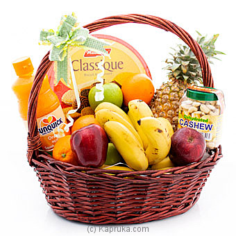 Season`s Bounty Fruit Basket By Kapruka Agri at Kapruka Online forspecialGifts
