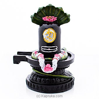 Statue Of Hindu God Shiva Lingam By Habitat Accent at Kapruka Online forspecialGifts
