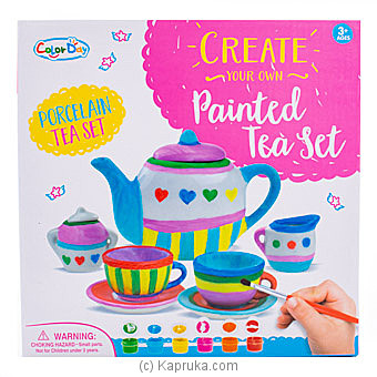 Paint Your Own Mini Tea Set By NA at Kapruka Online forspecialGifts