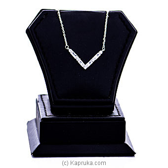 Crystal Stone Pendant With Necklace By Swarovski at Kapruka Online forspecialGifts