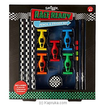 Race Ready Pencil And Eraser Set By Smiggle at Kapruka Online forspecialGifts