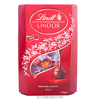 Lindor Irresistibly Smooth Milk Chocolate 375g By Lindt at Kapruka Online forspecialGifts