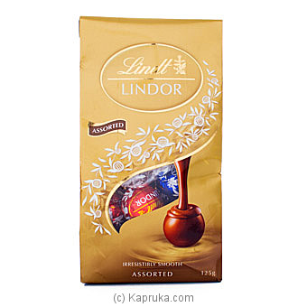 Lindt Lindor Irresistibly Smooth Assorted- 125g By Lindt at Kapruka Online forspecialGifts