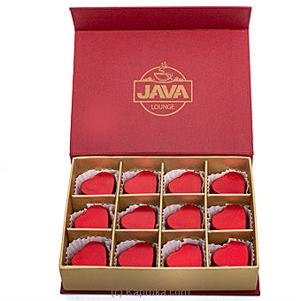 Java Valentine Milk Chocolate Filled With Cashew 12  Piece Chocolate Box By Java at Kapruka Online forspecialGifts