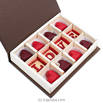 Java Milk Hearts With Hazelnut Praline 12 Piece Chocolate Box By Java at Kapruka Online forspecialGifts