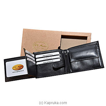 P G Martin EDM (Gents Wallet) Waxxy Nappa By P.G MARTIN at Kapruka Online forspecialGifts
