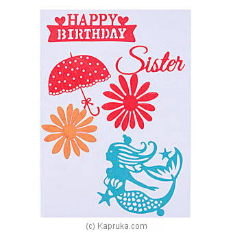 Handmade Happy Birthday Greeting Card By NA at Kapruka Online forspecialGifts