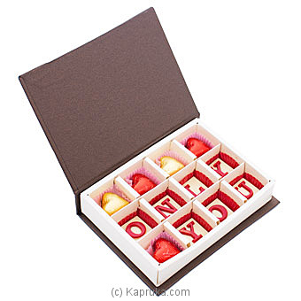 Java Only You 12 Piece Chocolate Box By NA at Kapruka Online forspecialGifts