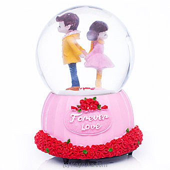 Musical Couple Forever In Love Crystal Ball Ornament By Habitat Accent at Kapruka Online forspecialGifts