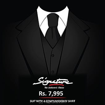 Signature Voucher For Suit By Hameedia at Kapruka Online forspecialGifts