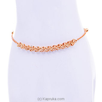 18kt Red Gold Bracelet (B246-84) By Mallika Hemachandra Jewellers at Kapruka Online forspecialGifts