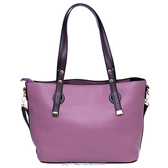 Women`s Fashionable Purple Handbagat Kapruka Online forspecialGifts