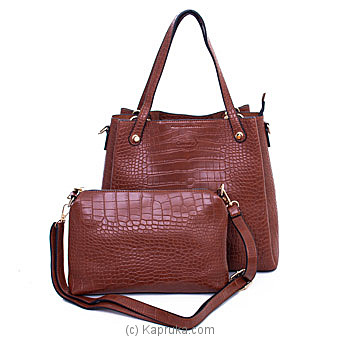 Women`s Classy Brown Shoulder Bag By NA at Kapruka Online forspecialGifts