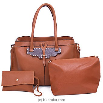 Classy Ladies Brown Shoulder Bag By NA at Kapruka Online forspecialGifts