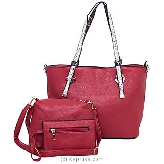 Classy Ladies Red Shoulder Bag By NA at Kapruka Online forspecialGifts
