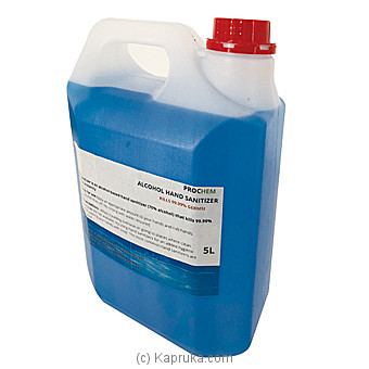 Alcohol Sanitizer - 5L By Prochemat Kapruka Online forspecialGifts