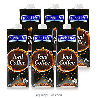 Rich Life Iced Coffee- 1000ml -06 Packat Kapruka Online forspecialGifts