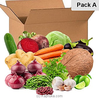 Vegetable Essentials - Pack Aat Kapruka Online forspecialGifts