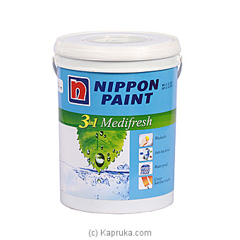 Nippon Medifresh Emulsion Paint (Brilliant White) By Nippon Paint at Kapruka Online forspecialGifts