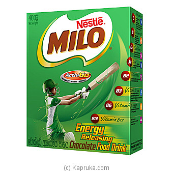 Milo Active-Go Chocolate Food Drink 400g By Nestle at Kapruka Online forspecialGifts