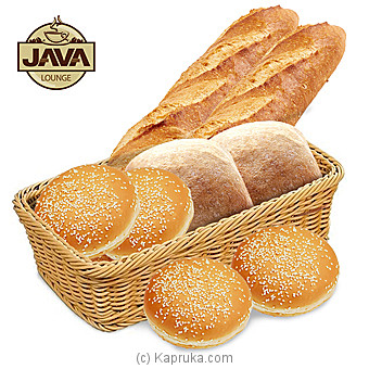 Java Lounge Fresh Bread Basket - Made Fresh Every Morning By Java at Kapruka Online forspecialGifts