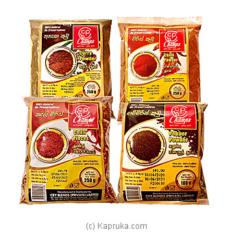 Spices Pack - Chilli - Curry - Pepperat Kapruka Online forspecialGifts