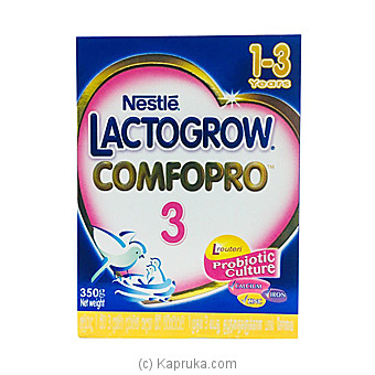 Nestle Lactogrow Comfopro 3 (for 1-3 Years)at Kapruka Online forspecialGifts