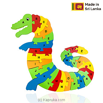 Alphabet Dragon Puzzle By Sarvodaya at Kapruka Online forspecialGifts