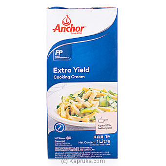 Anchor Cooking Cream (Extra Yield)- 1L By Anchor at Kapruka Online forspecialGifts