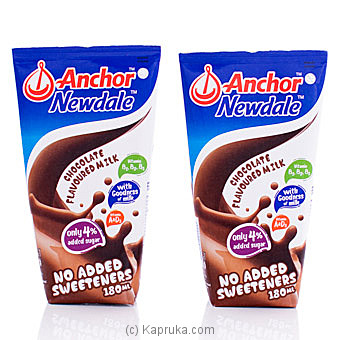 Anchor Newdale Chocolate Flavoured Milk- 180ml (2 Pack) By Anchor at Kapruka Online forspecialGifts