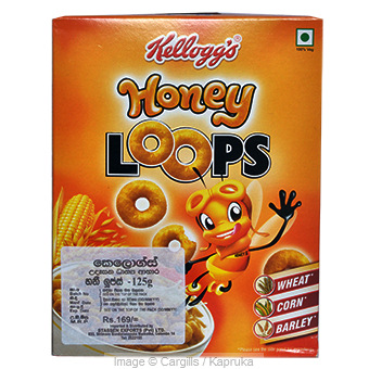 KELLOGGS HONEY LOOPS - 125 GR at Kapruka Online for Foodcity