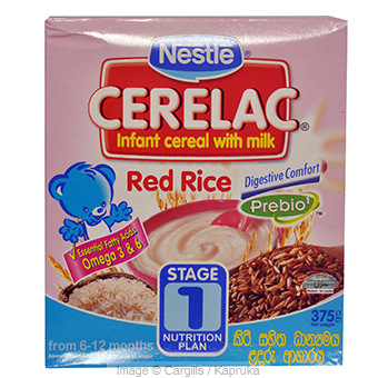 CERELAC RED RICE CEREAL - 300GR at Kapruka Online for Foodcity