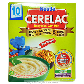 CERELAC PBIO1 DHAL/RICE - 300 GR at Kapruka Online for Foodcity